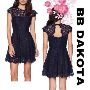 BB DAKOTA 🖤 Rylin Lace Dress in Oilslick